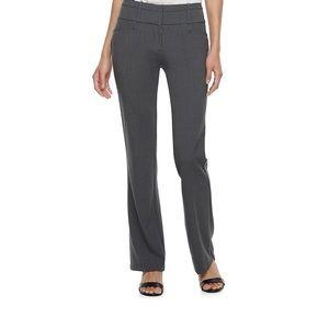 Candies juniors size 7 midrise bootcut dress pants